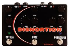 Pigtronix OFO Disnortion Parallel Fuzz and Overdrive with Octave Up Guitar Pedal Guitar Effects Pedals, Guitar Pedals, Distortion Pedal, Pedalboard, Fuzz, Music Instruments, Cyber Monday, Guitars, Bass