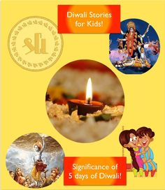 Diwali Stories for kids, This Diwali let kids get aware of the story behind the celebration of DIwali, the meaning and significance of 5 days of Diwali in a Simple and story telling way Why Is Diwali Celebrated, Why We Celebrate Diwali, New Years Eve Traditions, Easter Traditions, Creative Activities, Activities To Do, Significance Of Diwali, Diwali Facts, Diwali In Hindi