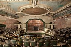 old abandoned theater