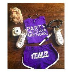 @ladylilbones agrees that purple is poppin for the summer!!!!!! #TeamLeo…