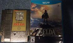 The Legend of Zelda and The Legend of Zelda: Breath of the Wild (1986, 2017)- NES, Wii U