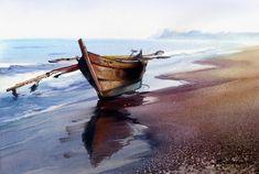 Валерий Маковой. Лодка