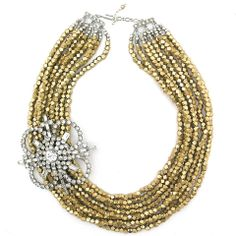 More Than Glamour necklace by Elva Fields #elvafields