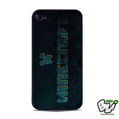 Blue Minecraft Logo iPhone 5 Case | iPhone 5S Case
