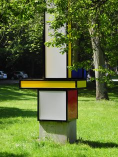 Mondrian sculpture Quadrat Bottrop