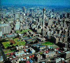 Hillbrow Johannesburg Johannesburg Skyline, Third World Countries, Pretoria, South Africa, Landscape Photography, New York Skyline, City Photo, Explore, Places