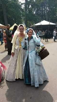 Sophie en Trudy Ostendorf tijdens Castlefest 2015
