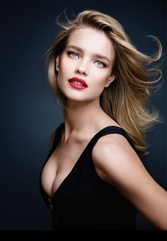 Natalia Vodianova for KissKiss Collection by Guerlain.