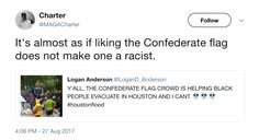Hillary Staffer Triggered by Confederate Flag on Boat Saving Black Flood Victims