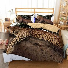 Step By Step Roadmap For Cheetah Print Bedroom 2 9 - kindledesignhome Cheap Bedding Sets, Best Bedding Sets, Bedding Sets Online, King Bedding Sets, Pink Bedding, Luxury Bedding Sets, Comforter Sets, Leopard Bedding, Animal Print Bedding