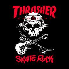 Skate Rock, Skate Art, Skateboard Rack, Skateboard Design, Thrasher Skate, Art Above Bed, Pop Art, Kitchen Wall Colors, Old Logo