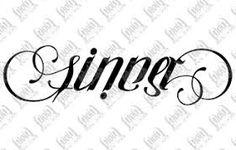 Risultati immagini per sinners tattoo