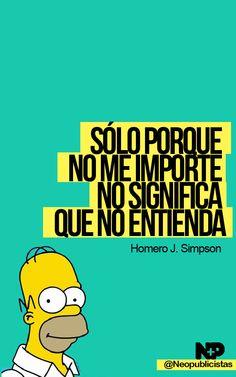 El gran Homero Simpson :)