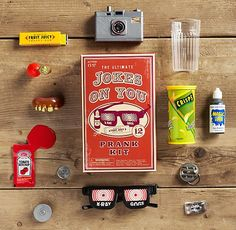 RH's Jokes on You!™ Prank Kit:Calling all pranksters. Unsuspecting subjects fall for these jokes every time. Funny P, Funny Memes, Hilarious, Funny Stuff, Things Organized Neatly, Cool Packaging, Practical Jokes, April Fools Day, Birthday Party Themes