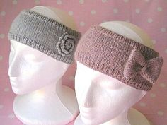 Head Band knitting pattern by louiseshandknits on Etsy, £2.50