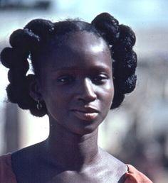 visage et coiffures d'afrique