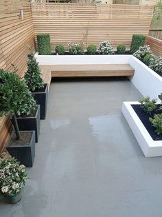 - Small garden design ideas are not simple to find. The small garden design is unique from other garden designs. Space plays an essential role in small . garden Minimalist Garden Design Ideas For Small Garden - TRENDUHOME Modern Garden Design, Small Patio Ideas On A Budget, Garden Seating, Modern Landscape Design, Terrace Design, Small Backyard, Small Garden Design, Minimalist Garden, Patio Design