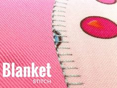The blanket stitch is one of the most popular decorative stitches used today. It can be created by hand or with your sewing machine. Find out how to use basic decorative stitches in your sewing projects to add visual texture and accents. The Sewing Loft