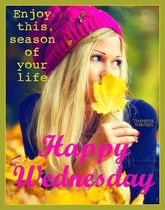 Happy Wednesday Autumn Quote