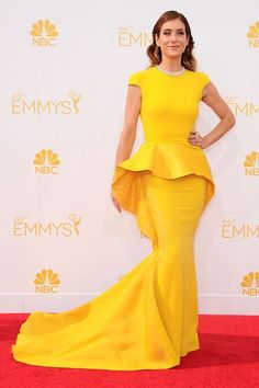 Kate Walsh in a Stephane Rolland - EMMYS 2014