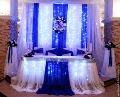 Свадебные аксессуары ручной работы. Ярмарка Мастеров - ручная работа. Купить Оформление свадьбы в синем цвете. Handmade. Синий, свадьба