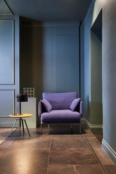 "Alain Gilles set out to play with that typical structure and ""open it up in order to expose its softer inner side."" The result is Structure, a sofa and armchair collection for Bonaldo."