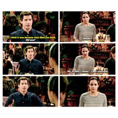 "#Brooklyn99 2x09 ""The Road Trip"" - Jake and Amy"