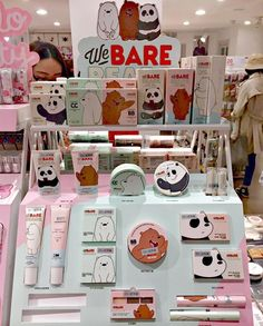 K-Beauty News - Missha x We Bare Bears Collection - K-Beauty, Asian and Korean Cosmetics, Kawaii Uni Beauty News, K Beauty, Summer Beauty, Kawaii Makeup, Cute Makeup, Bear Makeup, Bear Wallpaper, Missha, Aesthetic Makeup