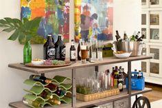Consejos para armar una barra de tragos en casa - Gustavo Peláez - ESPACIO LIVING