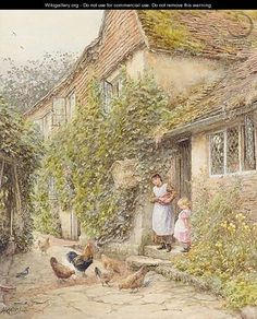 Helen Allingham (1848 – 1926) – Pintora Inglesa_32