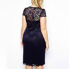 Hellomamma Womens Cap Sleeve V-Neck Plus Size Lace Bodycon Cocktail Party Dress  http://www.effyourbeautystandarts.com/hellomamma-womens-cap-sleeve-v-neck-plus-size-lace-bodycon-cocktail-party-dress/