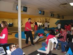Supporting Junior Achievement during their 2009 Bowl-a-Thon! EVENT