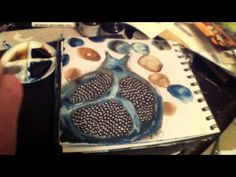 Seed Journals 6 - Art Journaling with Milliande