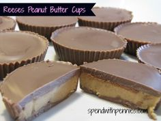 Homemade Peanut Butter Cups!  These delicious homemade cups taste better than Reese's ... be sure to use a high quality chocolate for the best results!