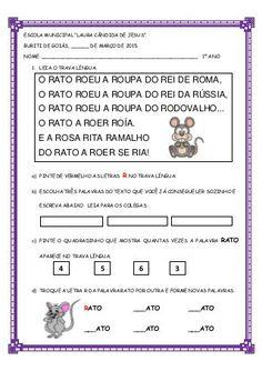 Trava língua O Rato -