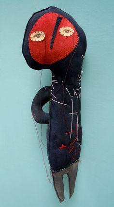 Leather dolls 2011 | Cecile PERRA visual: cecile.perra @ wanadoo.fr