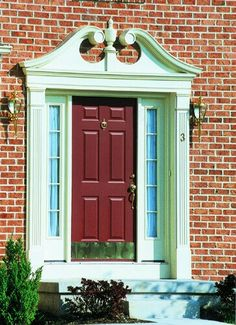 Increase Your Curb Appeal With The Additional Of Window Crossheads And Door  Surrounds.