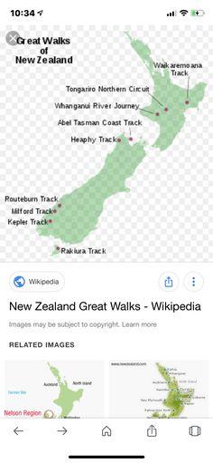 Wikipedia Images, Abel Tasman, Great Walks, Auckland, Walking, Walks, Hiking