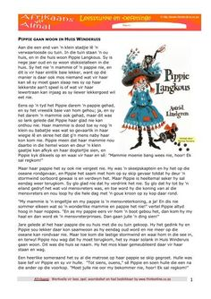 pdf - Think Read more about pippie, hulle, huis, anneke, gaan and tommie. Grade R Worksheets, Worksheets For Kids, Free Reading Comprehension Worksheets, Afrikaans Language, Clever Kids, Afrikaanse Quotes, Kids Poems, Teaching Aids, Homeschool Math