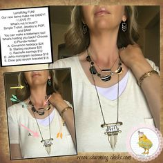 Plunder Design Jewelry by Kim. SWYW...Our new Plunder Design Catalog makes me…