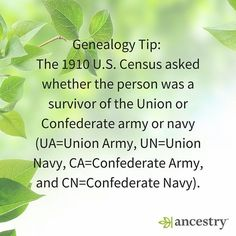 Were any of your ancestors UA, UN, CA or CN survivors?  #military #veterans #ancestry #familyhistory #heritage #roots #familytree #ancestors #war #Confederates #Union  #Army #Navy #genealogy #CivilWar