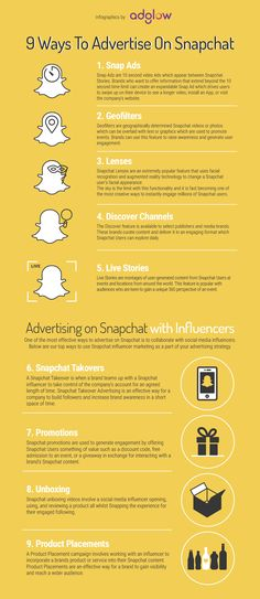 Snapchat is continually expanding its native advertising allowing brands to reach the right audience in the right context. Brands can now communicate their message with Snapchat Users in interactive and memorable ways. If you are considering using Snapchat to advertise your brand, below are our top 9 ways to make the most of the platform.