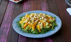 Healthy Avocado and Mango Salad.