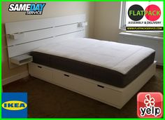 IKEA Bed assembly service in Baltimore, MD • FLATPACKSERVICE.COM • 410 870-9337 • 10 Best Ikea Assembly in Washington, DC - YELP IKEA NORDLI Bed with Headboard & Storage Article # 692.414.22 IKEA services | Assembly service – IKEA • 202 277-5911 • IKEA Bed Assembly Service in Annapolis, MD 10 Best Furniture Assembly Services in Annapolis, MD • 301 971-7219 • IKEA College Park, MD – IKEA Store Near Me – IKEA • POSTS • Flatpack Assembly Bed assembly service in Baltimore, MD Ikea Nordli, Ikea Bed, Best Ikea, Furniture Assembly, Headboards For Beds, Baltimore, Washington Dc, Cool Furniture