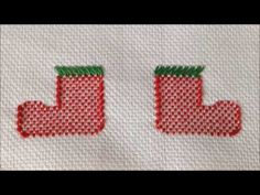 VIDEO 42 BOTINHAS DO PAPAI NOEL PARTE 1 #VAGONITE#NATAL#BOTINHAS PAPAI NOEL - YouTube