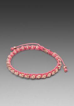 M.COHEN Pink Skull Bracelet in Rose Gold at Revolve Clothing - Free Shipping!