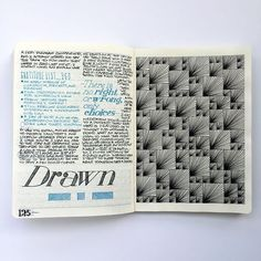 A sketch from last year playing with randomness within a set grid. One colour black is used for line work oriented in an asymmetric manner. I will be introducing a second colour and pattern into this design in the future. #blackandwhite #sketch #sketchbook #journal #journaling #print #designtoronto #graphicdesign #pen #drawing #ink #grid #pattern #linework #line #worldofartists #art #inspire #interiors #architecture #fashion #illustration #style #decoration #graphicroozane...