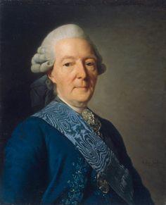 Александр Рослин. Портрет И. И. Бецкого. 1777.