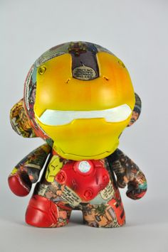 Ironman | Munny by VISEone , via Behance