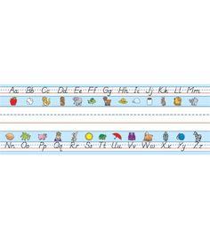 Modern Manuscript Alphabet Nameplates - Carson Dellosa Publishing Education Supplies  #CDWishList